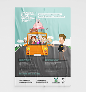 DER – DEPARTAMENTO DE ESTRADAS E RODAGEM/RN – CAMPANHA TRANSPORTE LEGAL